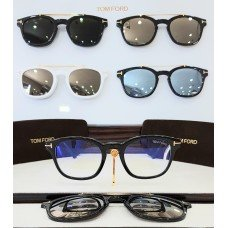 ÓCULOS DE GRAU CLIP-ON TOM FORD TF 5532-B 01V 49 21 140 *0