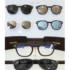 ÓCULOS DE GRAU CLIP-ON TOM FORD TF 5532-B 02A 49 21 140 *0