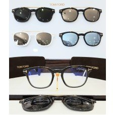 ÓCULOS DE GRAU CLIP-ON TOM FORD TF 5532-B 55A 49 21 140 *0